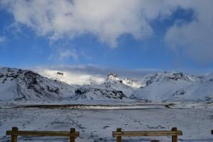 Glaciar a la distancia
